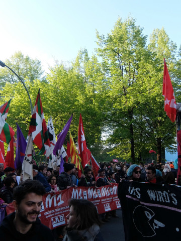 my favourite moments of the May Day march